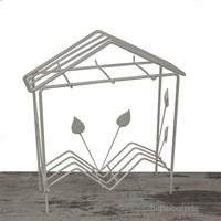 Mukko Home Tel Fincan Askısı - Beyaz