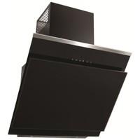 Simfer 8639 Siyah 60 cm Cam Yatık Davlumbaz