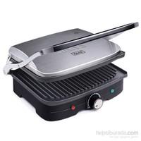 Stilevs Kıtırık Çelik Tost Makinesi -İnox