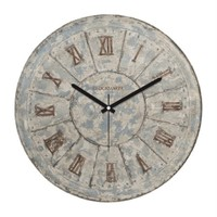 Clockmaker By Cadran Retro Vintage 30X30 Mdf Duvar Saati Cmm76
