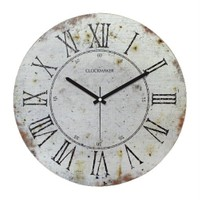 Clockmaker By Cadran Retro Vintage 30X30 Mdf Duvar Saati Cmm79