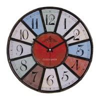 Clockmaker By Cadran Retro Vintage 30X30 Mdf Duvar Saati Cmm83
