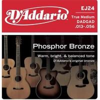 Daddario Ej24 True Medium Akustik Gitar Teli
