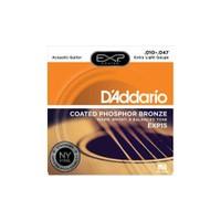 D'Addario Exp15 Akustik Gitar Telleri (010)