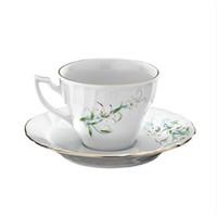 Kütahya Porselen Diana Çiçekli 12 Parça 6 Kişilik Porselen Çay Takımı