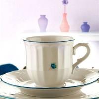 Kütahya Porselen Mina Mavi 6 Kişilik Çay Takımı