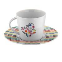 Kütahya Porselen Toledo 6 Kişilik 12 Parça Desen Çay Takımı