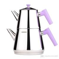 Akdeniz Piramit Mini Çaydanlık (Süzgeçli) Akd-006