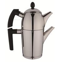 Aryıldız Anka Siyah Mini Çaydanlık Takım