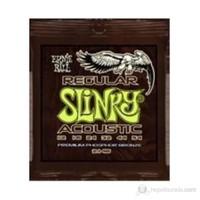 Ernie Ball 2146 - Regular Slinky Acoustic Phosphor Bronze .012 - .054 Akustik Gitar Teli