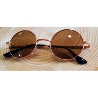 Köstebek John Lennon Gözlük Kahverengi
