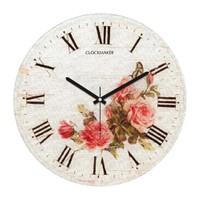 Clockmaker By Cadran Retro Vintage 30X30 Mdf Duvar Saati Cmm139