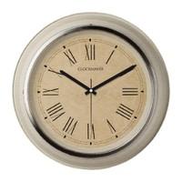 Clockmaker By Cadran Retro Vintage 30X30 Mdf Duvar Saati Cmm147