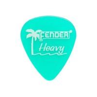 Fender California Clear Picks, 12 Pack, Heavy, Sur