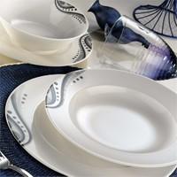 Kütahya Porselen Fine Bone Desen 6 Kişilik 24 Parça Yemek Takımı