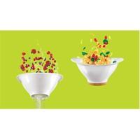 Ventu Süzgeçli Salata Kabı