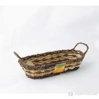 Kancaev Oval Yayvan Sepet-Sebze (Küçük)