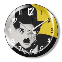 Clocktime By Cadran Dekoratif Bombeli Cam Duvar Saati Ct78