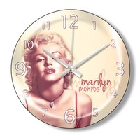 Clocktime By Cadran Dekoratif Bombeli Cam Duvar Saati Ct84