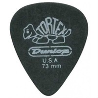 Jim Dunlop Tortex Pitch Black .73Mm Pena