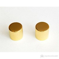 Guitar Tech GT512 Control Knobs Potans Düğmeleri ( Gold - Metal )
