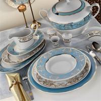 Kütahya Porselen İris 12 Kişilik 97 Parça Desen Yemek TakımI