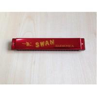 Mızıka 24 Delikli Swan Sw24-Rd Kırmızı