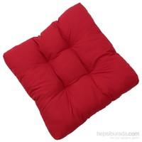 Micro Puf Kare Minder ( Kutulu ) Kırmızı