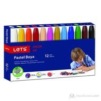 Lets L-6120 Pastel Boya 12 Li Paket