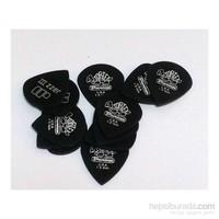 Jim Dunlop Tortex Pitch Black 1.50 Pena