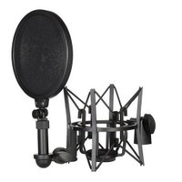 D-Sound 36940 Spf-02 Shockmount+Pop Filter