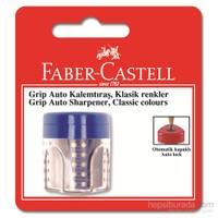 Faber-Castell Grip Auto Kalemtraş Tekli Klasik Renkler - 3 Renk (5600183498)
