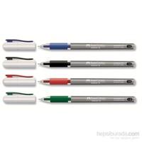 Faber-Castell SpeedX Tükenmez Kalem Kırmızı 1,0
