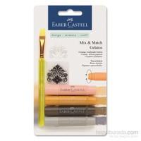 Faber-Castell Gelato Mum Boya Doğal Tonlar 4 Renk