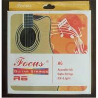 Akustik Gitar Takım Teli Focus A6