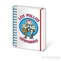 A5 Defter Breaking Bad - Los Pollos Hermanos