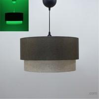 Crea Lighting/Fosforix Sarkıt 40 Cm/Keten/Kahve-S.Kahve