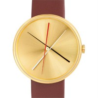 Projects Watches Crossover Brass Brown Leather Unisex Kol Saati