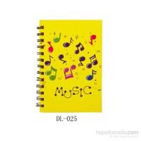 Notalı Sarı Not Defteri