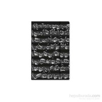 Notalı Dosya - Siyah B4