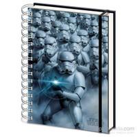 A5 Defter Star Wars Stormtroopers 3D Lenticular