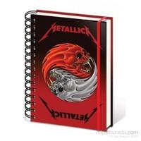 A5 Defter - Metallica Yin And Yang SR71819