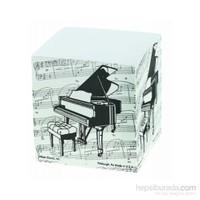 Kuyruklu Piyano Küp Notluk