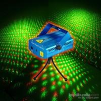 King Shark DQ10-20 Sese Duyarlı Mini Disko Sahne Lazeri