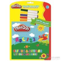 Play-Doh Silinebilir Kitap Büyük Harfler-Rakamlar Play-Sk003