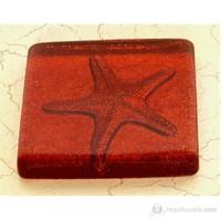 Deniz Yıldızı Kırmızı Simli Mutfak - Banyo Gider Süsü