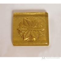 Çiçek Altın Simli Mutfak -Banyo Gider Süsü