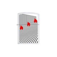 Zippo Ci005836 Bs Lined Flames Çakmak