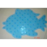 Banyo Kaydırmazı Balık Mavi