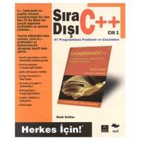 SIRA DIŞI C++ / CİLT 1
